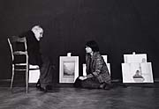 Anna Fárová with Josef Sudek, photo: Ivan Doležal