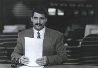 První romský televizní moderátor Ondřej Giňa