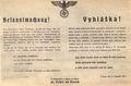 Hitler ordenó encerrar las escuelas superiores checas