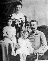 Archduke Franz Ferdinand with his wife Sophie Chotek and their children