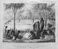 Ureinwohner Australiens in den 1850er Jahren
