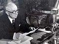 Edvard Beneš, photo: archive of Czech Radio