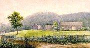 Bethlehem par Rufus Grider, 1875, www.moravianchurcharchives.org