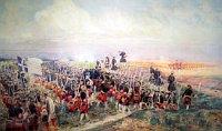 Schlacht bei Fontenoy war eines der wichtigen Momente der Schlesischen Kriege