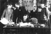La paix Brest-Litovsk 1918