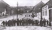Břevnovská náves před sto lety
