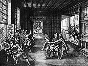 Prague defenestration in 1618