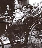 František Josef I. při návtěvě Břevnova vroce 1907