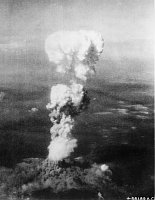 Am 6. August 1945 warfen die Amerikaner eine Uran-Bombe auf Hiroshima ab (Foto: U.S. National Archives, Public Domain)