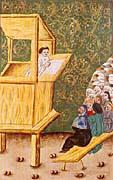 Jean Hus prêche à la chapelle de Bethléem