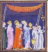 Charles IV et son fils Venceslas