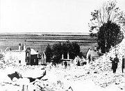Die Nazis zerstörten das Dorf Lidice