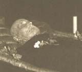 Т. Г. Масарик в гробу