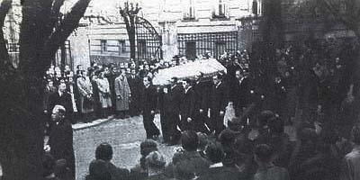 Похороны Яна Оплетала