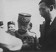 Le général français Maurice Pellé en délégation au Sokol de 1920, photo: Garitan, Creative Commons