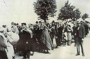 Brno 'death march', photo: archive of Post Bellum