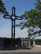 Brno Death March memorial in Pohořelice