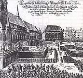 Poprava 27 českých pánů na Staroměstském náměstí 21.června 1621
