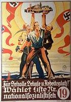 SdP-Wahlplakat