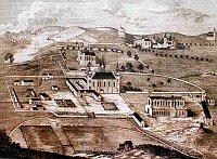 Nákres Sedleckého kláštera