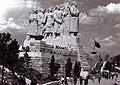 La statue de Staline sur la colline de Letna