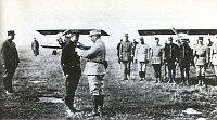 Štefánik est décoré de la Croix de Guerre en 1915