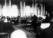 Unterzeichnung des Versailler Friedensvertrags