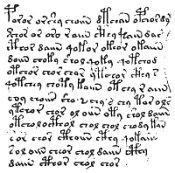 Tajemné písmo rukopisu