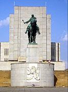 La statue de Jan Zizka