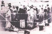 Příjezd Romů do Osvětimi