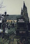 Grab von K. H. Macha auf dem Friedhof von Vysehrad