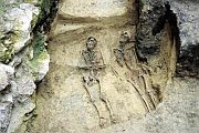 Archeologický průzkum hřbitova, foto: Archaia (www.brno.cz)