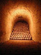 Jedna zchodeb kostnice, foto: Aleš Svoboda (www.brno.cz)