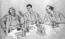 Josef Suk, Václav Talich und Vítězslav Novák