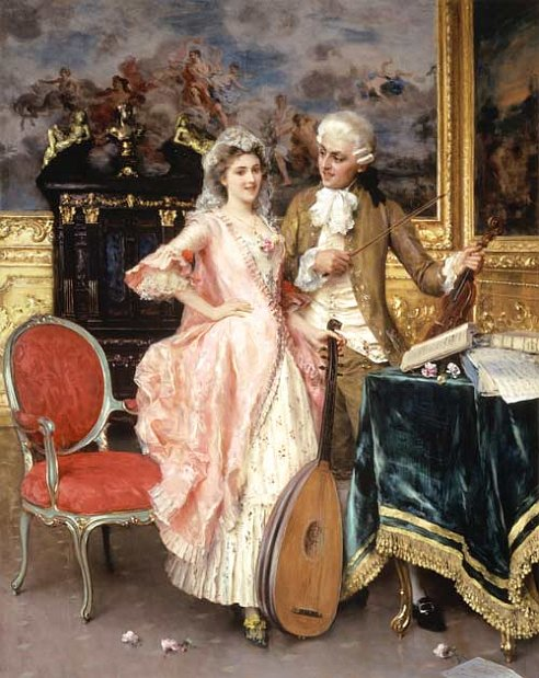 Radio prague classical era for Rococo period paintings