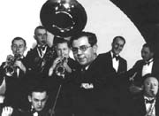 Jaroslav Jezek and the orchestra of the Liberated Theatre