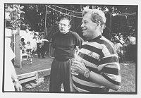 Andrej Krob, Václav Havel, photo: Ondřej Němec, ISIFA/Lidové noviny