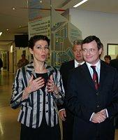 Kateřina Pancová y David Rath, foto: ISIFA/ VLP/ Kateřina Husárová