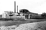 Die Radlitzer Molkerei im Jahre 1923