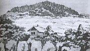 Jelení skok à Karlovy Vary par Goethe, 1807