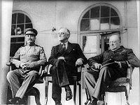 Joseph Stalin, Franklin D. Roosevelt, Winston Churchill