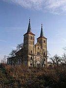 L'église Saint Marguerite du couvent des bénédictins de Podlazice