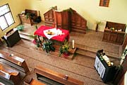 Velikonoční výzdoba evangelického kostela