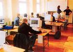 Nově vybavená počítačová učebna ve škole spolku Komenský ve Vídni