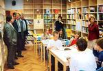 Knihovna vybudovaná ČSÚZ v Končenici v Chorvatsku
