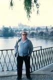 Jiří Ostermann v Praze, 1990