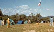 Tábořiště vroce 1973
