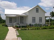 One of the restored early Texas house