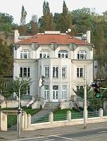 La villa de Kovařovic à Vyšehrad