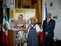 Ivana Michalová, Flavio Viveros y José Luis Bernal
